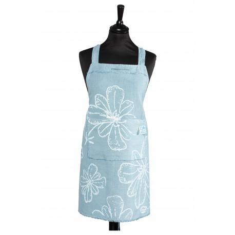 Tablier Bleuette - Motif fleur de pastel