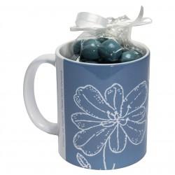 Mug bonbonnière - Fleur de pastel