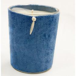 Bougie parfumée Duvet de cygne Bleu par Nature