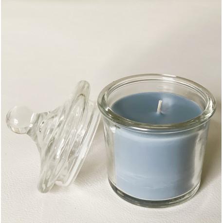 Bougie parfumée brume de pastel - Liberty pastel verre